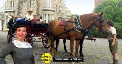 Un combo historique : Vieux Hull à cheval et Portage dans le temps