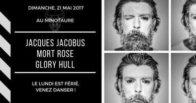 Jacques Jacobus! Mort Rose!  Glory Hull!