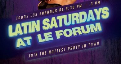 Saturday Night latin Party