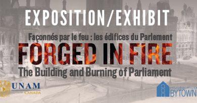 Façonnés par le feu : les édifices du Parlement