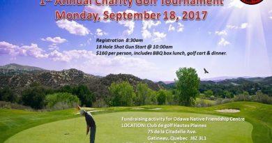 Odawa's 1st Annual Charity Golf Tournament