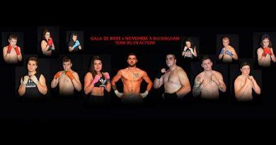 Gala de boxe à Buckingham