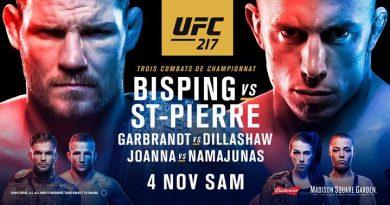Bisping vs St-Pierre