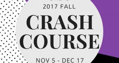 2017 Fall Crash Course