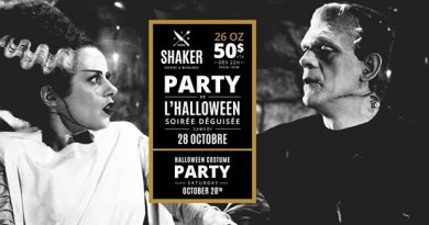 Party d'Halloween – Shaker Gatineau