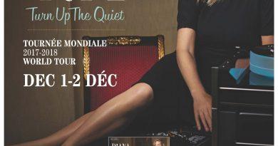 La tournée «Turn Up The Quiet de Diana Krall s'arête à Ottawa