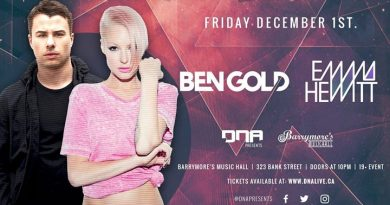 Ben Gold and Emma Hewitt at Barrymore's