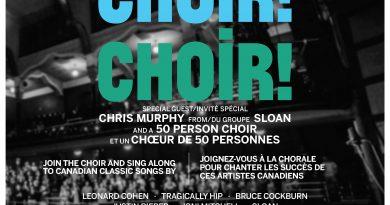 Le Centre National des Arts présente Choir! Choir! Choir!