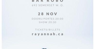 Rayannah @ Bar Robo