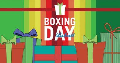 Boxing Day avec Labatt!