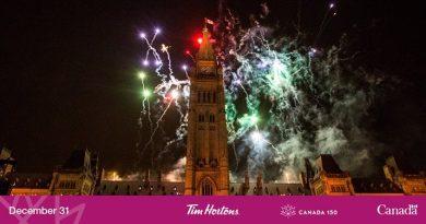Le dernier hourra de Canada 150 !