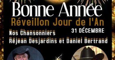 Party Veille du Jour de l'An Réjean Desjardins – Daniel Bertrand