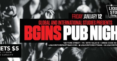 Global and International Studies presents Bgins Pub Night
