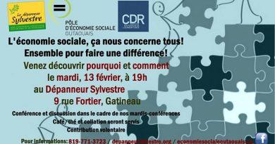 L'ABC de l'économie sociale – mardi-conférence