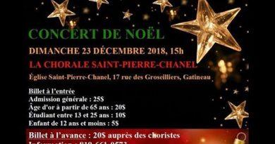 La Chorale Saint-Pierre-Chanel en Concert