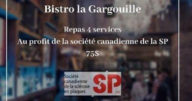 Souper-spectacle au profit de la société canadienne de la SP