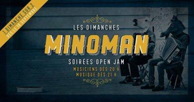 Les dimanches Minoman – Soirée Open Jam