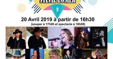 Tchad chanteras à la levée de fond pour Sylvie Losier