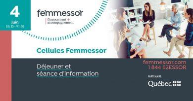 Cellules Femmessor : Déjeuner et séance d'information
