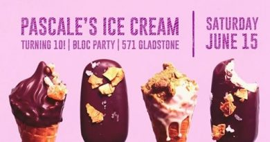 10 Years of Pascale's Ice Cream