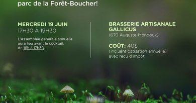 Cocktail annuel de la Fondation forêt Boucher à la Brasserie Artisanale Gallicus