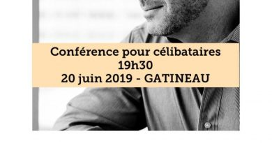 Conférence pour célibataires à la Cabane en bois rond