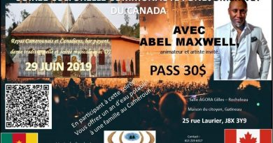 Soirée culturelle communauté fondjomekwet du Canada
