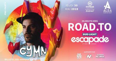Road to Escapade with CYMN