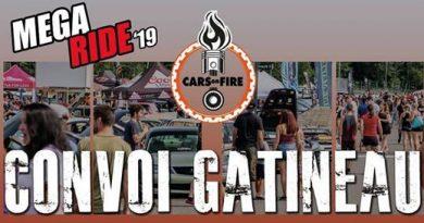 Méga Ride Convoi Gatineau pour Cars On Fire