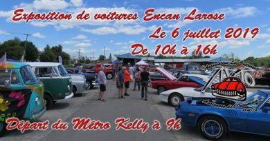 Exposition de voitures Encan Larose