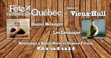 Daniel Bélanger et Les Louanges à Gatineau