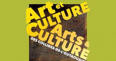 LANCEMENT DE LA CARTE «ART ET CULTURE DES COLLINES-L'OUTAOUAIS »